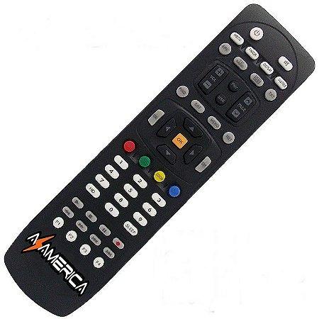 Controle Remoto Receptor Azamérica S1006 HD