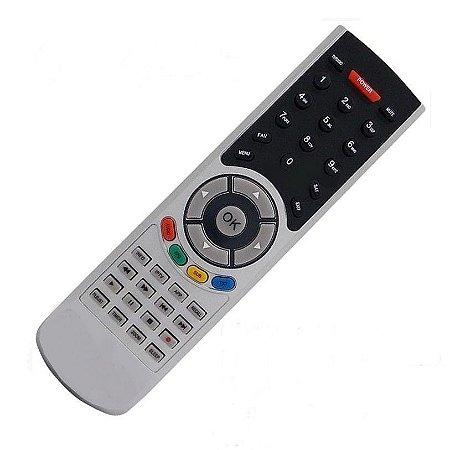 Controle Remoto Receptor Alphasat Chroma Plus HD