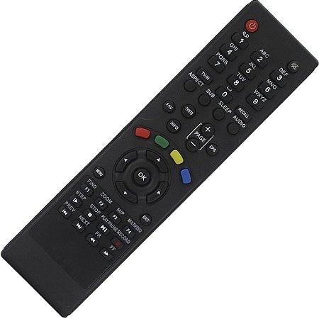 Controle Remoto Receptor Azbox Moozca Bravíssimo HD