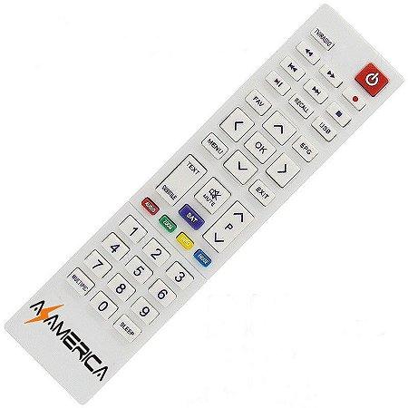 Controle Remoto Receptor Azamérica King HD