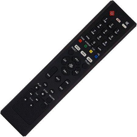 Controle Remoto Receptor Azamérica F90 HD