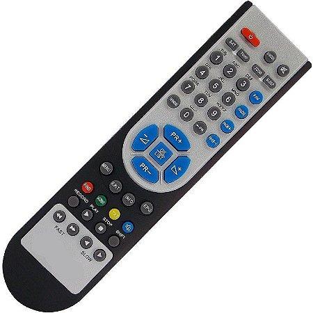 Controle Remoto Receptor Azamérica S922 HD