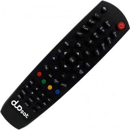 Controle Remoto Receptor Duosat Twist HD