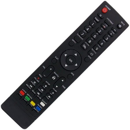 Controle Remoto Receptor Audisat A3 Plus HD