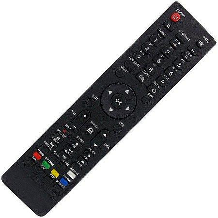 Controle Remoto Receptor Audisat A5 Plus HD