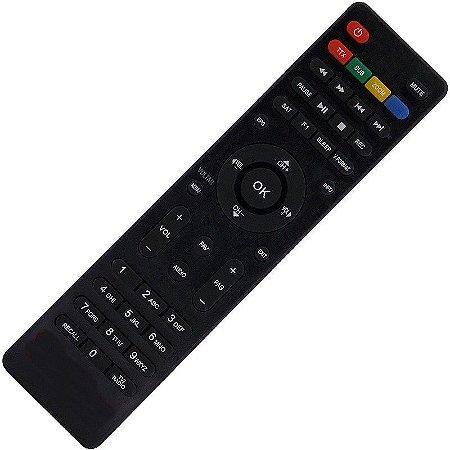 Controle Remoto Receptor Cinebox Fantasia+ Plus HD