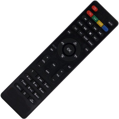 Controle Remoto Receptor Globalsat Gs220 HD