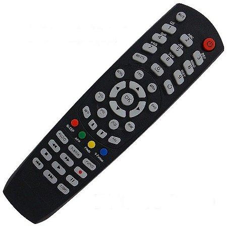 Controle Remoto Receptor Tocomsat Duo HD Mini