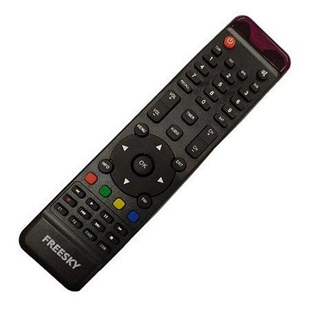 Controle Remoto Receptor Freesky Triplo X HD
