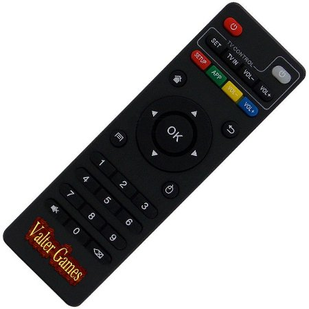 Controle Remoto TV Box MXQ Pro 4K H96 Pro Plus / X96 / X96 Mini / T95M / T95N