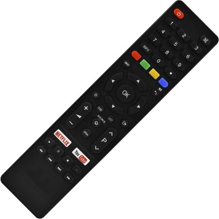 Controle Remoto TV LED Philco PTV58F60SN 4K com Netflix e Youtube (Smart TV)