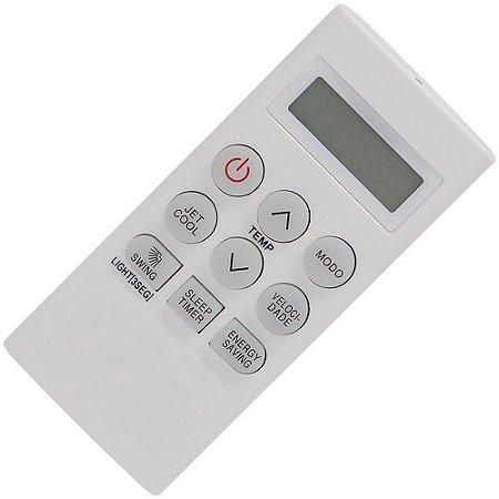 Controle Remoto Ar Condicionado LG TSNC072W4W0