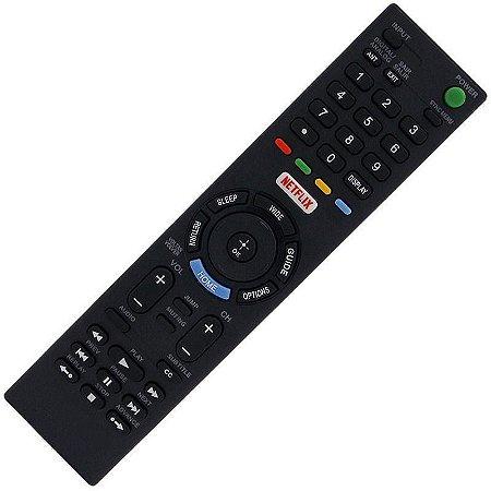 Controle Remoto TV LED Sony KDL-32W609D Netflix