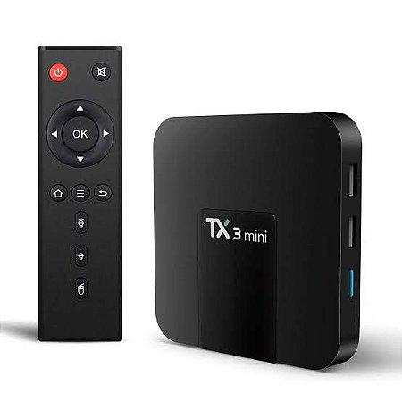Convesor Smart Tv Tx3 Mini. Converta sua TV em Smart TV