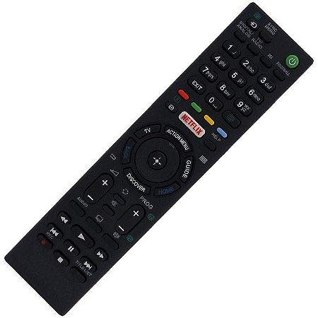 Controle Remoto TV LED Sony Bravia KD-55X850xC com Netflix