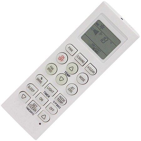 Controle Remoto Ar Condicionado LG - ASNW182CRZ0