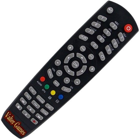 Controle Remoto Visionsat Space HD