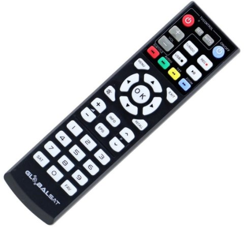 Controle Remoto Receptor Globalsat Gs-260 Full HD