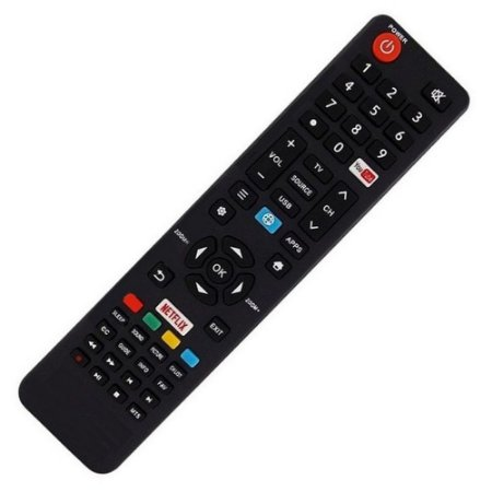 Controle Remoto TV LED SEMP CT-6841 / 49SK6000 com Netflix / Youtube (Smart TV)