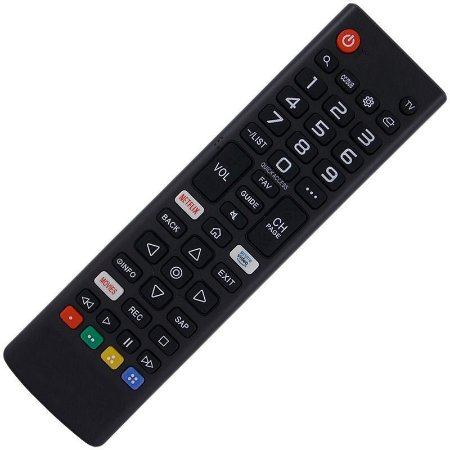 Controle Remoto TV LED LG AKB75675304 com Netflix e Prime Video (Smart TV)