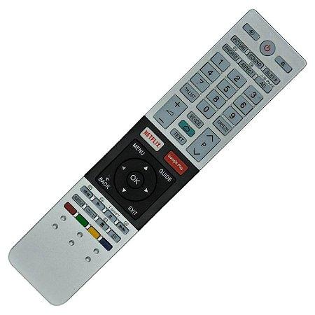 Controle Remoto Tv Led Toshiba Netflix e Google Play CT-8536