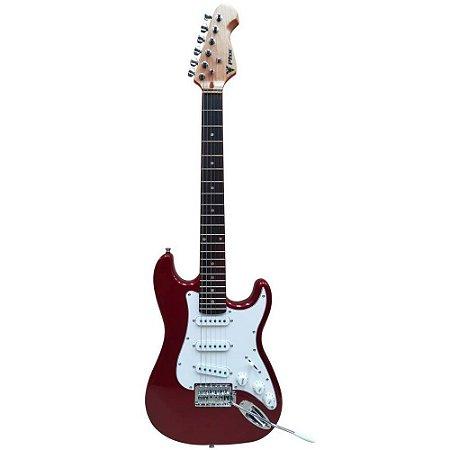 Guitarra PHX Stratocaster Juvenil IST1 3/4 Vermelha