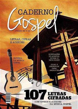 Caderno Gospel Letras, Cifras Violao