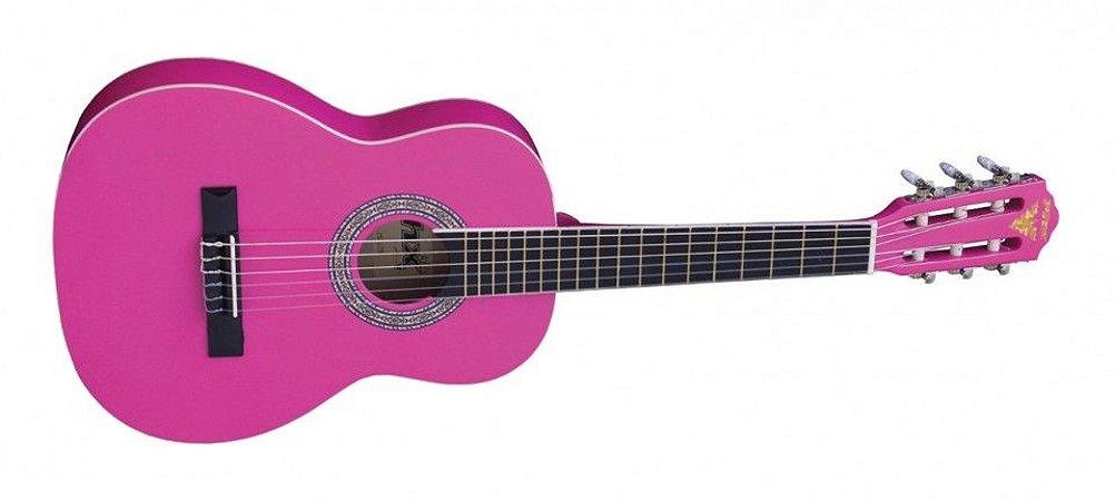Violão Infantil PX 31 Pink PHX acompanha capa