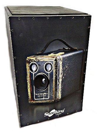 Cajon Spanking Acústico Câmera Antiga