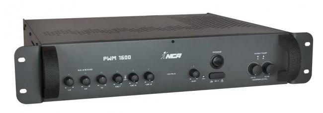 Potência com pré-embutido mono - PWM1600