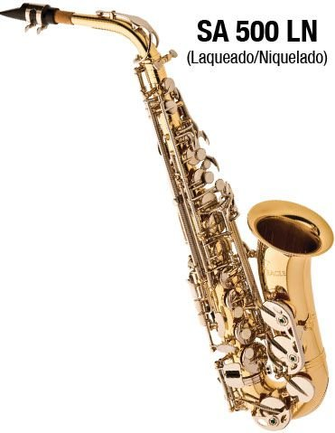 Saxofone Alto em Mib Eagle SA500LN