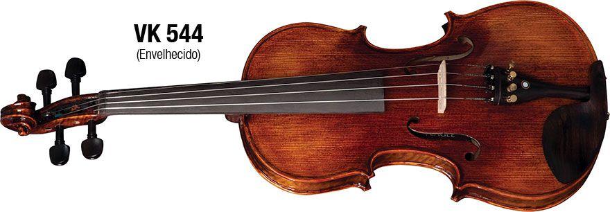 Violino Eagle 4/4 Madeira Envelhecida VK544