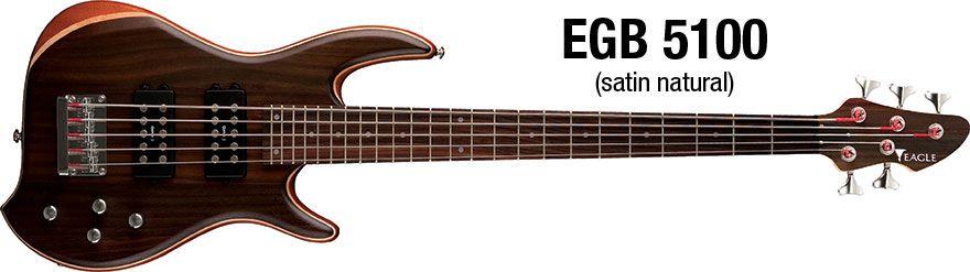 Contra Baixo Eagle EGB5100 5 Cordas