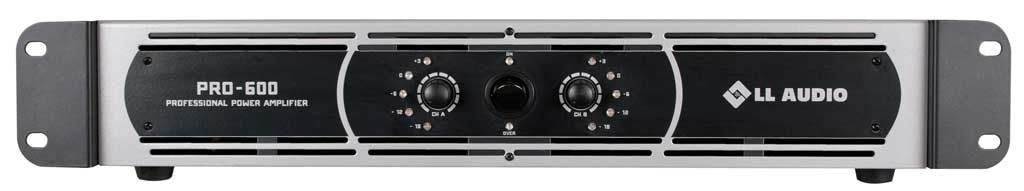Amplificador de Potência LL AUDIO - PRO 600