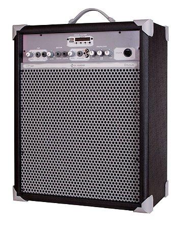 Caixa de Som Amplificada Multiuso UP!10 FM/USB/BLUETOOTH - Preta