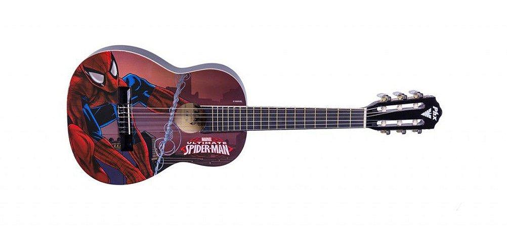 Violão Infantil Spider-man linha Marvel PHX VIM S1 acompanha capa