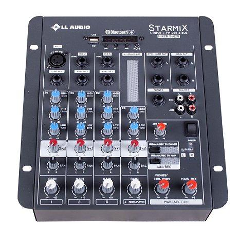Mesa de som Linha Starmix BT S402RBT