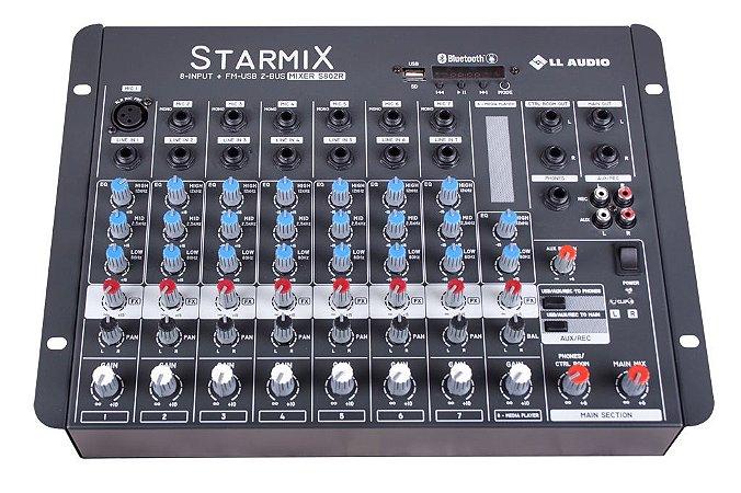 Mesa de som Linha Starmix BT S802RBT
