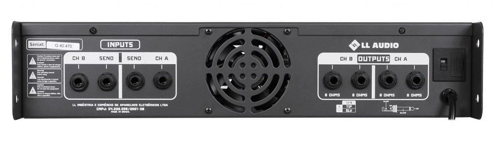 Amplificador de Potência Pro1200x