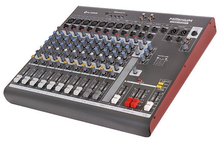 Mesa de som linha Millenium mx1202D com efeito e Phantom power 48v