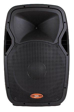 Caixa De Som Ativa Donner Edge 12s Mp3 Fm Sd Rec Bluetooth