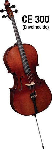 Violoncelo Eagle Ce300 4/4 Cello Profissional