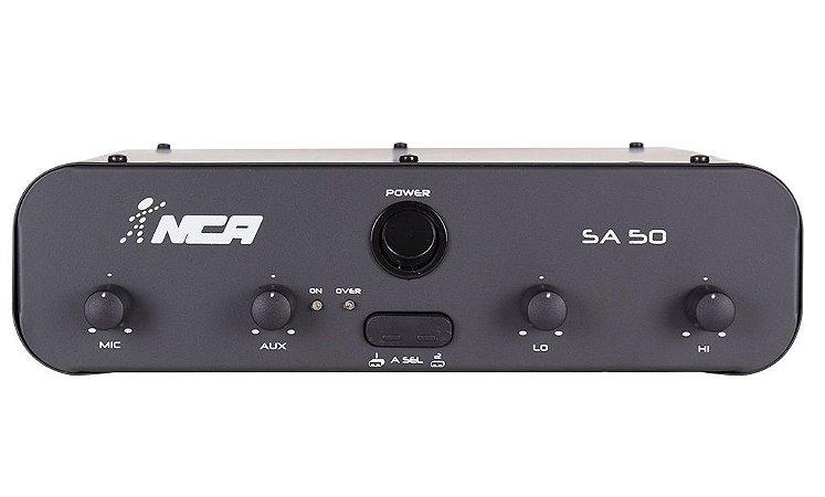 Amplificador Compacto de Potência NCA - SA50