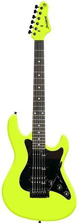Guitarra Strinberg Strato Egs267 amarela