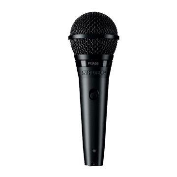 Microfone Shure Dinâmico Cardioide PGA58 para Voz principal e backing