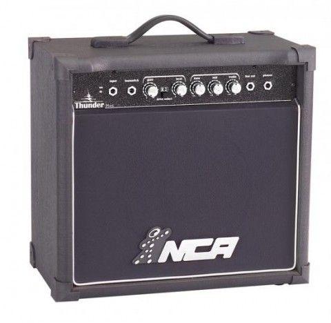 Cubo Amplificador para Guitarra Thunder Plus - com distorção - 30W RMS