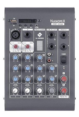 Mesa de som Linha Nanomix CDX502