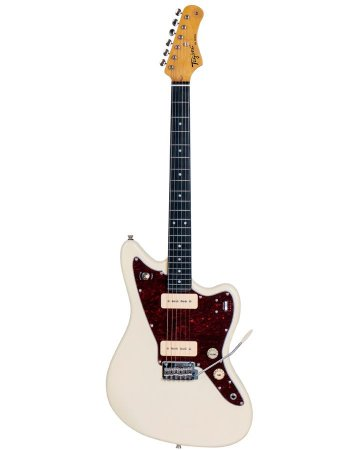 Guitarra Tagima Tw61 Woodstock Branco Vintage
