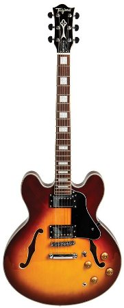 Guitarra Tagima Blues 3000 Semi acústica HoneyBurst Acompanha Case