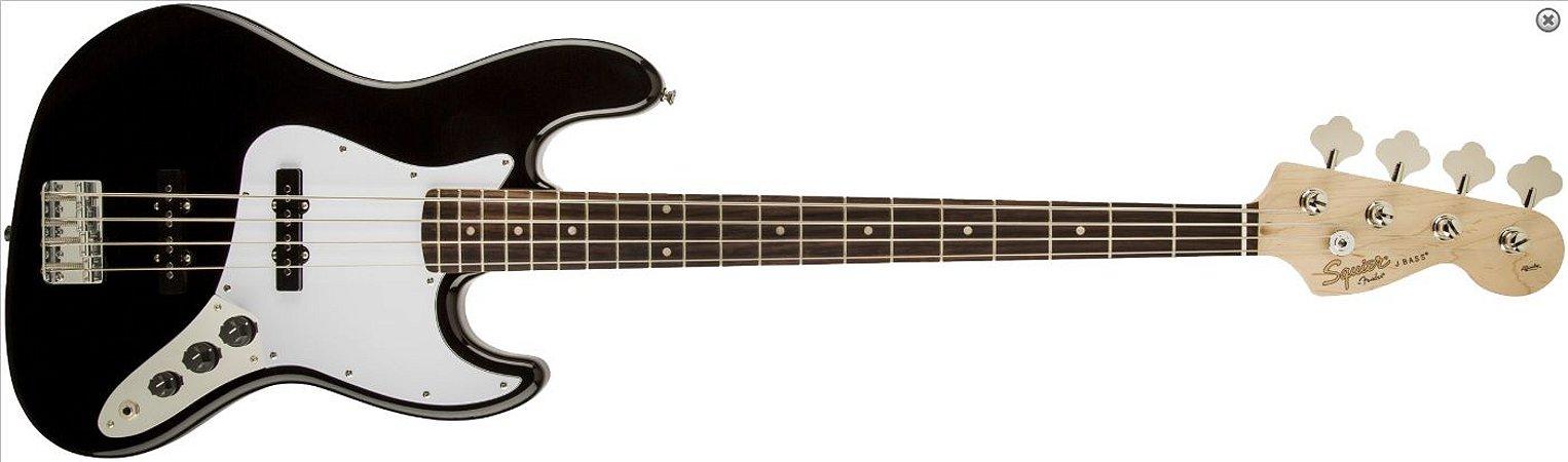 Contra Baixo Fender Squier Affinity Jazz Bass Preto